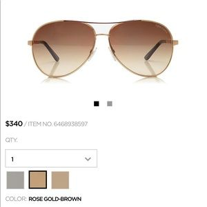 2313fd0a8baf 58% off Tom Ford Accessories - Tom ford Celia sunglasses SOLD from ...